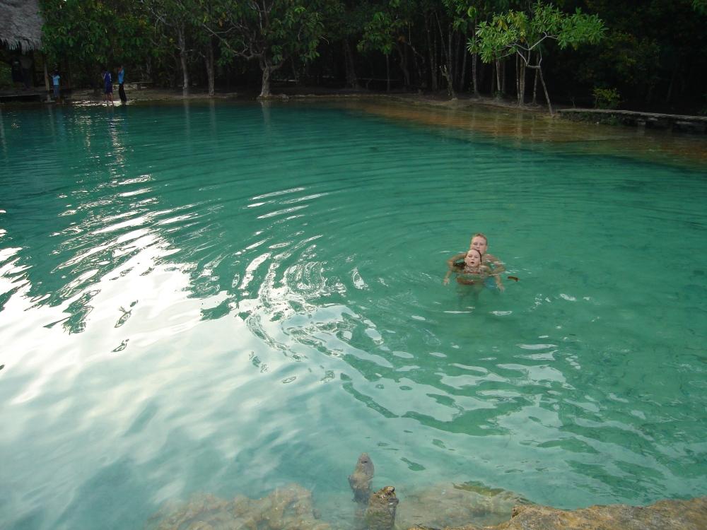 The Emerald Pools, Thailand