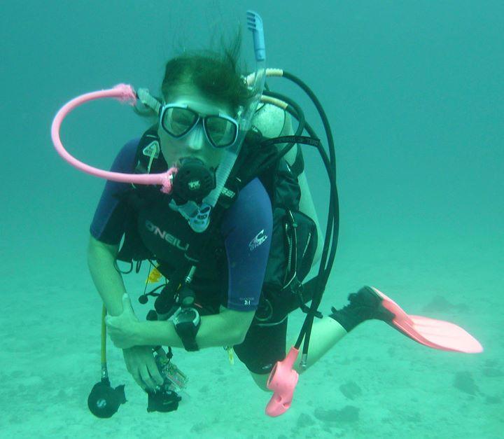Scuba diving england