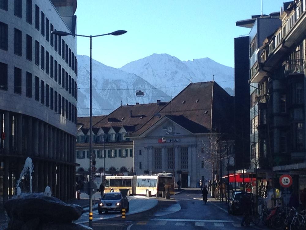 Swiss train stations