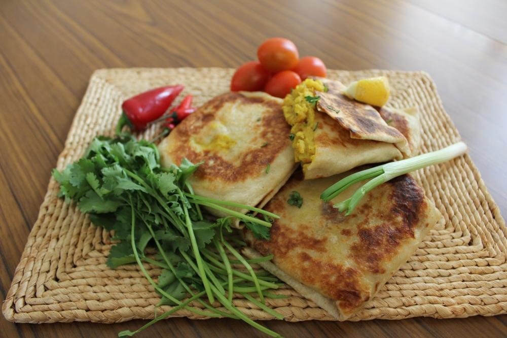 Bombay Potato wraps