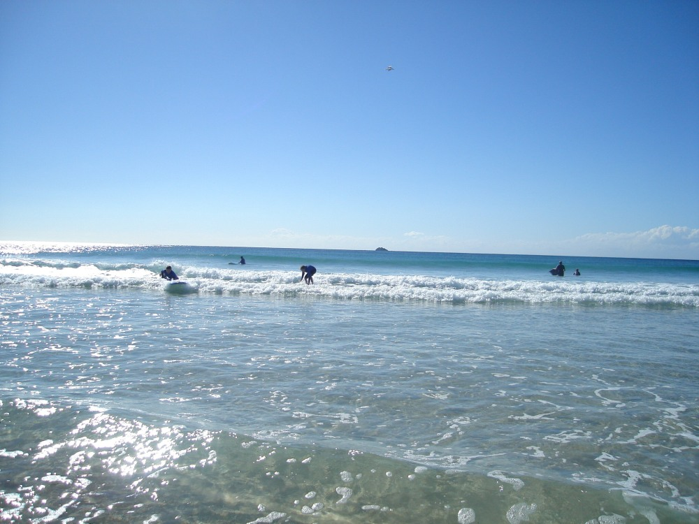 Learning to Surf in Byron Bay