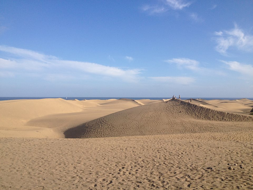Sand Dunes Gran Canaria